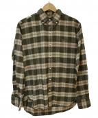 SCYE(サイ)の古着「ボタンダウンシャツ」|ブラウン