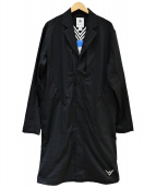 adidas Originals by White Mountaineering(アディダス オリジナルス バイ ホワイトマウンテニアリング)の古着「LONG COAT」|ブラック