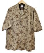 SASQUATCHfabrix.(サスクワァッチファブリックス)の古着「半袖シャツ」|ブラウン
