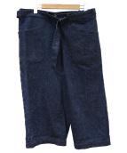 KAPTAIN SUNSHINE(キャプテン サンシャイン)の古着「NAVAL WRAP TROUSERS」|インディゴ