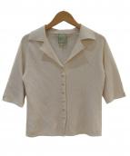 Sybilla(シビラ)の古着「ニットオープンカラーシャツ」|アイボリー