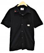 GANGSTERVILLE(ギャングスタビル)の古着「ブロンズショートスリーブシャツ」|ブラック