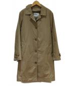 MHL.(エムエイチエル)の古着「ダウンライナー付ステンカラーコート」|ベージュ