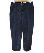 KIJI(キジ)の古着「尾錠付きテーパードデニムパンツ」|インディゴ