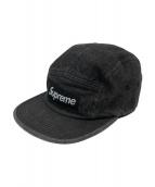 Supreme(シュプリーム)の古着「デニムキャンプキャップ」|グレー