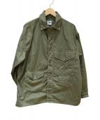 POST O'ALLS(ポストオーバーオールズ)の古着「カバーオール」|グリーン