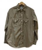 POST O'ALLS(ポストオーバーオールズ)の古着「シャツ」|ベージュ