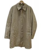 346 BROOKS BROTHERS(ブルックス ブラザーズ)の古着「ライナー付ステンカラーコート」 ベージュ