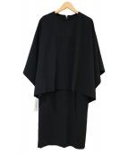 MOGA(モガ)の古着「レイヤードワンピース」|ブラック