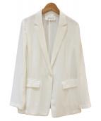 wb(ダブルビー)の古着「テーラードジャケット」|ホワイト