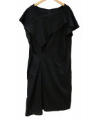 wb(ダブルビ)の古着「ノースリーブワンピース」|ブラック