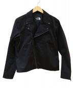 THE NORTH FACE(ザノースフェイス)の古着「ライダースジャケット」|ブラック
