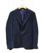 FILOMARINO(フィロマリーノ)の古着「サマーウールジャケット」|ネイビー