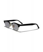 CALEE(キャリ)の古着「眼鏡」|ブラック×ゴールド