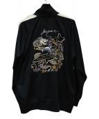 東洋エンタープライズ(トウヨウエンタープライズ)の古着「スカジャージ」|ブラック
