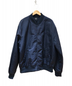 BEAMS T × Patta(ビームスT×パタ)の古着「Classic bomber jacket」|ネイビー