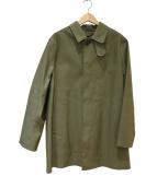 MACKINTOSH(マッキントッシュ)の古着「ライナー付ステンカラーコート」 グリーン