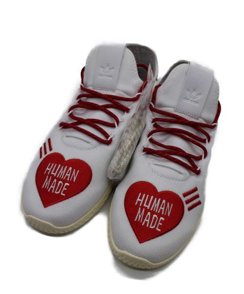 adidas(アディダス)adidas (アディダス) TENNIS HU HUMAN MADE ホワイト サイズ:26.5 未使用品 EF2392の古着・服飾アイテム