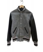 SKOOKUM(スクーカム)の古着「スタジャン」|グレー