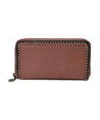 STELLA McCARTNEY(ステラマッカートニー)の古着「ラウンドファスナー財布」|ベージュ
