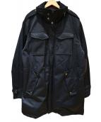 VICTORINOX(ビクトリノックス(ヴィクトリノックス))の古着「中綿コート」|ブラック