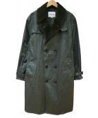 Barbour(バブアー)の古着「トレンチコート」|グリーン