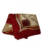 Cartier(カルティエ)の古着「スカーフ」|レッド