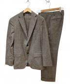 Belvest(ベルベスト)の古着「JACKET IN THE BOXスーツ」|ブラウン