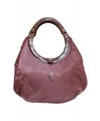 Felisi(フェリージ)の古着「サークルバッグ」|パープル