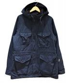 Engineered Garments(エンジニアードガーメンツ)の古着「NAVY RIPSTOP CRUISER JACKET」|ネイビー