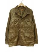ASPESI(アスぺジ)の古着「BEAMS F別注パッカブルM-43ナイロンジャケット」|ブラウン