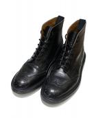 Trickers(トリッカーズ)の古着「カントリーブーツ」 ブラック