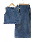 Ron Herman × Wrangler(ロンハーマン×ラングラー)の古着「セットアップデニムブラウス」|ブルー