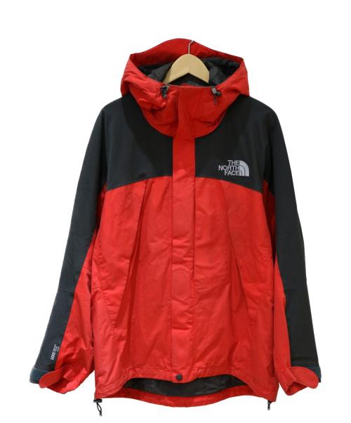 THE NORTH FACE(ザノースフェイス)THE NORTH FACE (ザノースフェイス) マウンテンジャケット レッド×ブラック サイズ:M Mountain Jacket GORE-TEX NP15400の古着・服飾アイテム