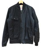 ALPHA × LEE(アルファ×リー)の古着「STORM MA-1 TYPE-A」|ブラック