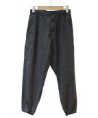 Engineered Garments(エンジニアードガーメン)の古着「BALLOON PANT -TROPICAL WOOL-」 グレー