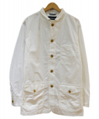 McGREGOR(マクレガー)の古着「リップストップカバージャケット」|ホワイト
