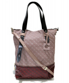GHERARDINI(ゲラルディーニ)の古着「ペネロペショルダーバッグ」|ピンク×レッド