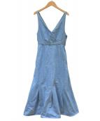 IENA(イエナ)の古着「デニムジャンパースカート」|ブルー