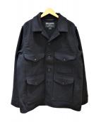 FILSON(フィルソン)の古着「マッキーノウールクルーザージャケット」|ネイビー