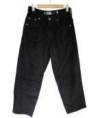 LEVIS silver tab(リーバイスシルバータブ)の古着「コーデュロイワイドパンツ」 ブラック