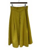 ADORE(アドーア)の古着「バルダライトスカート」|マスタード