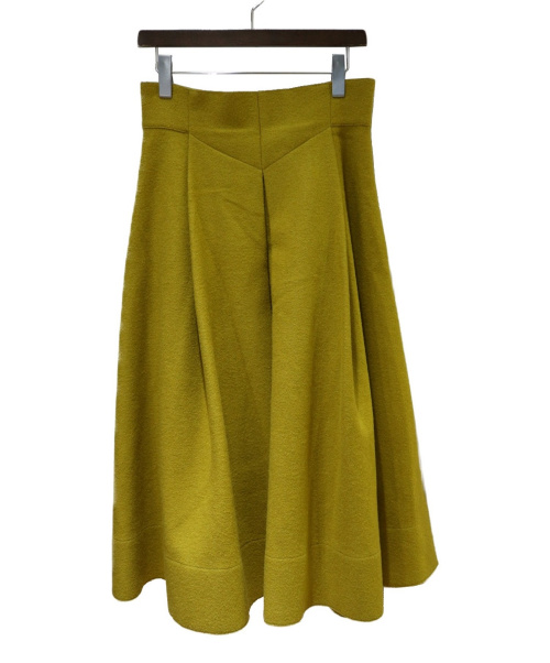 ADORE(アドーア)ADORE (アドーア) バルダライトスカート マスタード サイズ:38(Ⅿ)の古着・服飾アイテム