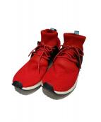 adidas(アディダス)の古着「スニーカー」|レッド×ホワイト