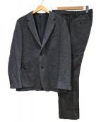 PLST(プラステ)の古着「ツイードテーラードセットアップスーツ」|グレー