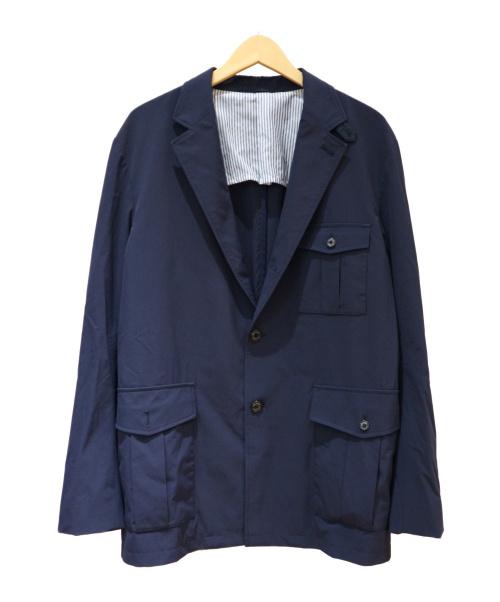 Mila Schon(ミラショーン)Mila Schon (ミラショーン) テーラードジャケット ネイビー サイズ:SIZE 50の古着・服飾アイテム