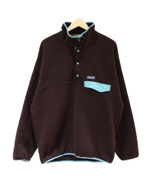 Patagonia(パタゴニア)Patagonia (パタゴニア) シンチラスナップTプルオーバー ブラック サイズ:SIZE M Synchilla Snap-T Pulloverの古着・服飾アイテム
