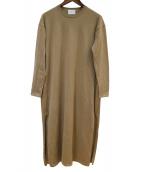UNITED ARROWS(ユナイテッドアローズ)の古着「ニットワンピース」|ベージュ