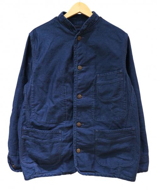 45R(フォーティファイブアール)45R (フォーティファイブアール) おこめサテンの908チロリアンジャケット インディゴ サイズ:4の古着・服飾アイテム