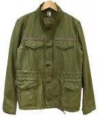 MHL(エムエイチエル)の古着「ALPHAコラボフィールドジャケット」|カーキ